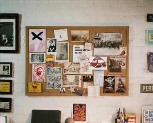 Luc Sante's Desk