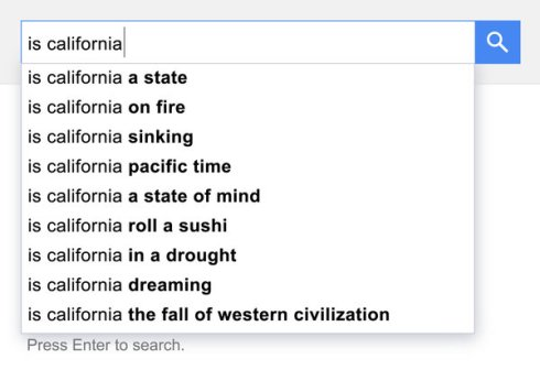 Is California…