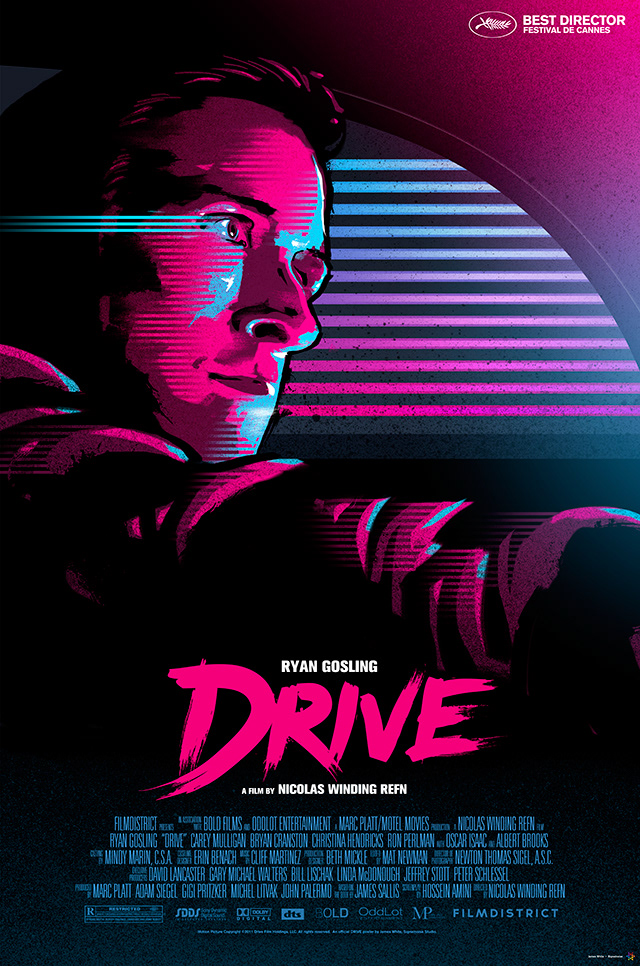 Alternative Drive poster by James White.