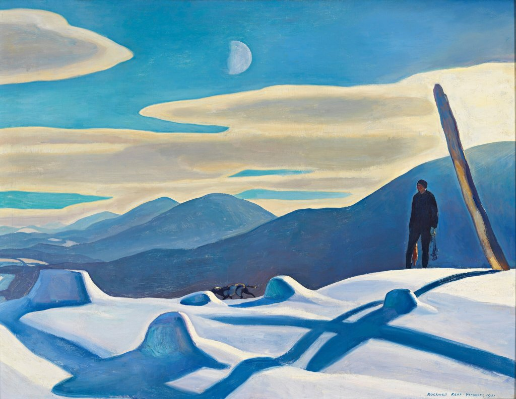 "Rockwell Kent's ""The Trapper"" (1921)"